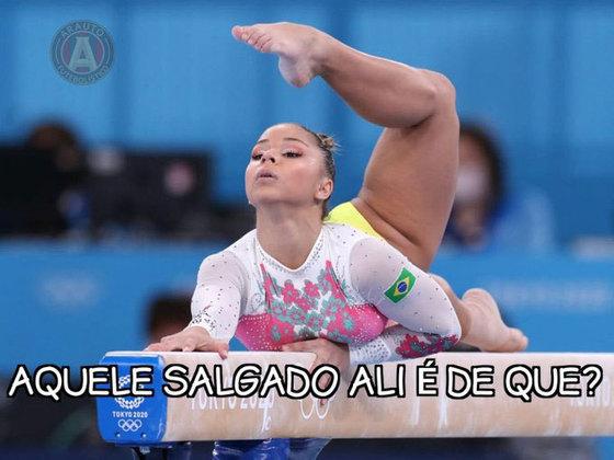 A flexibilidade das meninas na ginástica gerou memes na web