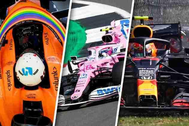 A Fórmula 1 desembarcou em Silverstone para o GP da Inglaterra. Confira aqui as melhores imagens da sexta-feira de treinos livres: