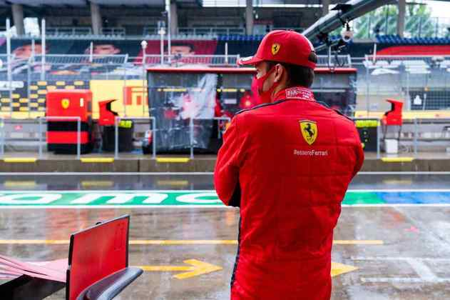 A Fórmula 1 não conseguiu treinar na sessão da manhã por causa da chuva