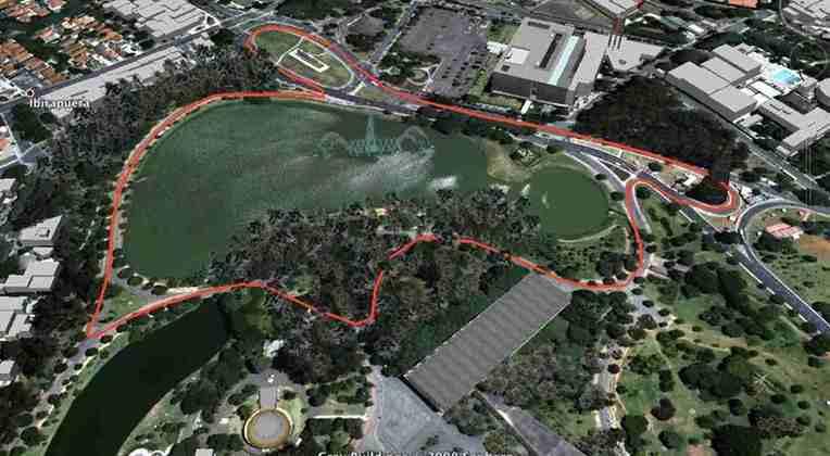 A Fórmula E flertou com uma corrida em São Paulo, no Parque do Ibirapuera, mas nunca saiu dos desenhos