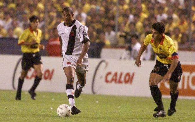 A Globo transmitirá a segunda partida da decisão da Libertadores de 1998, entre Vasco e Barcelona, nesse domingo, às 16 horas.