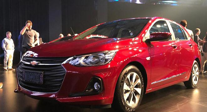 A GM é a marca mais vendida entre as montadoras de carros / Divulgação