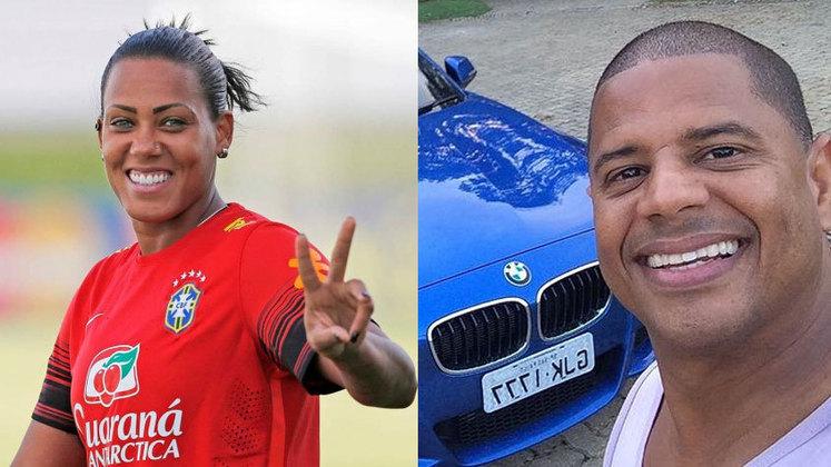 A goleira da seleção brasileira Bárbara Micheline e o ex-jogador Marcelinho Carioca também participaram de ações promocionais da empresa e foram lesados pelo esquema de pirâmide