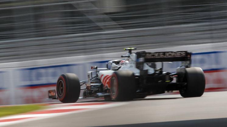 A Haas mais uma vez ficou abaixo das expectativas nos treinos