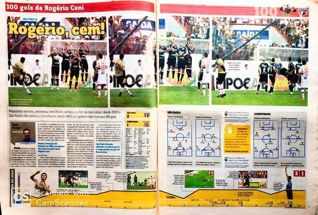 A história do jogo na visão de Mauro Beting, o aspecto tático da partida e o Termômetro do clássico