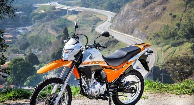 A Honda vendeu 122.353 unidades de sua trail NXR 160 Bros / Divulgação