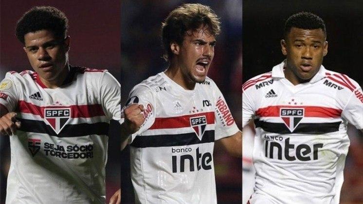 A janela de transferência internacional está aberta e o São Paulo pode vender algum jogador. Com isso, a reportagem mostra os jogadores mais valiosos do elenco segundo o Transfermarkt.