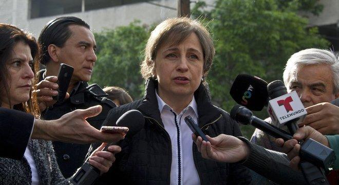 A jornalista mexicana Carmen Aristegui denunciou ter sido vítima do programa de espionagem Pegasus