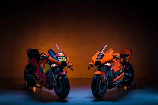 A KTM e Tech3 apresentaram as motos para 2021. Confira os detalhes