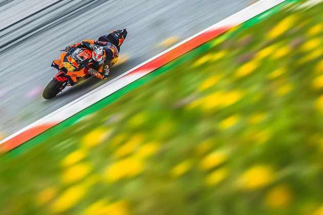 A KTM mostrou a força no Red Bull Ring, no primeiro dia de atividades da MotoGP. Veja as principais imagens