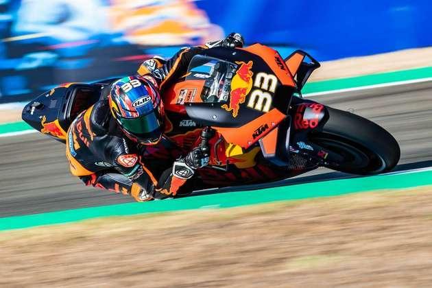 A KTM mostrou bom ritmo nos primeiros treinos