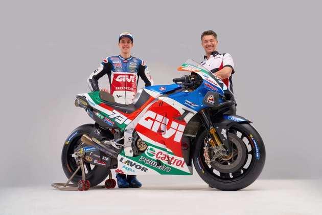 A LCR apresentou duas motos diferentes nesta semana, uma para cada piloto. Confira as pinturas dos RC213V de Álex Márquex e Takaaki Nakagami (Por Grande Prêmio)