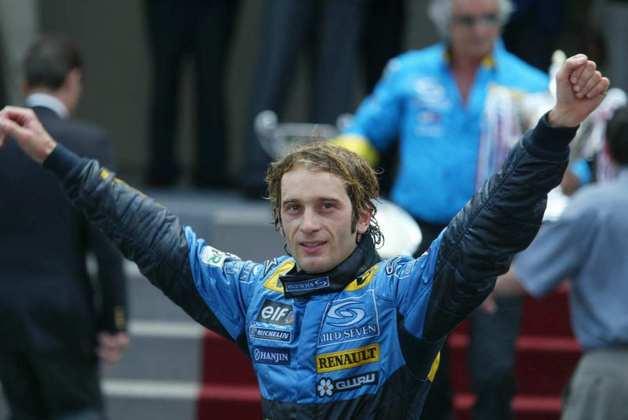 A má relação de Jarno Trulli com a Renault o fez deixar a equipe antes do fim de 2004. Jacques Villeneuve pulou como substituto.