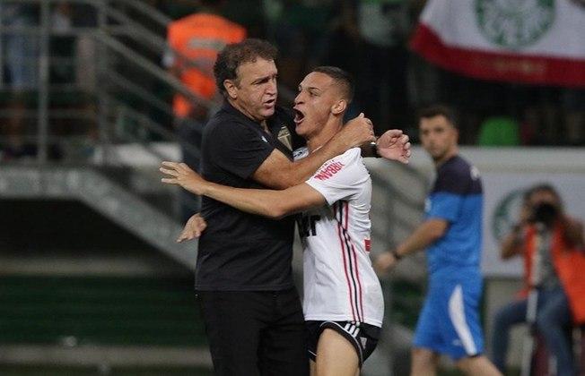 A maior alegria de Antony com o São Paulo talvez tenha vindo na semifinal do Paulistão de 2019: vitória nos pênaltis contra o Palmeiras e vaga na final.