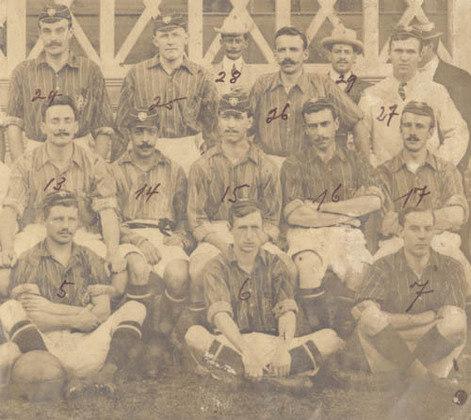 A maior goleada da história do Fluminense ocorreu em 1906: 11 a 0 sobre o Athletic.