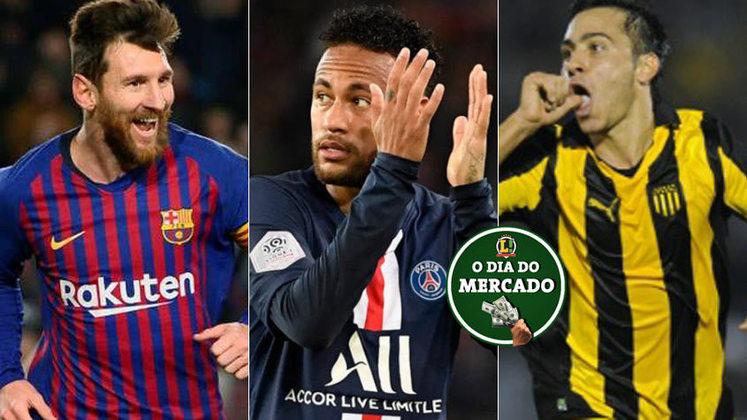 A manhã do mercado trouxe algumas novidades. Lionel Messi deve encerrar a carreira em Barcelona, Neymar não sairá do Paris Saint-Germain e Martinuccio já tem um novo clube. Confira essas e outras notícias a seguir.
