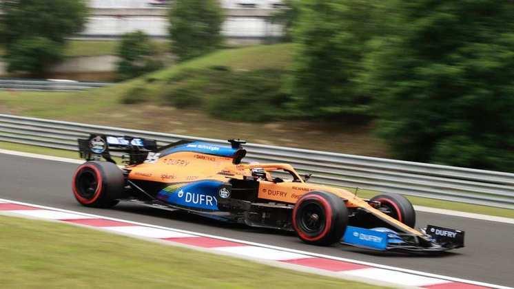 A McLaren espera voltar a pontuar com os dois carros na Hungria