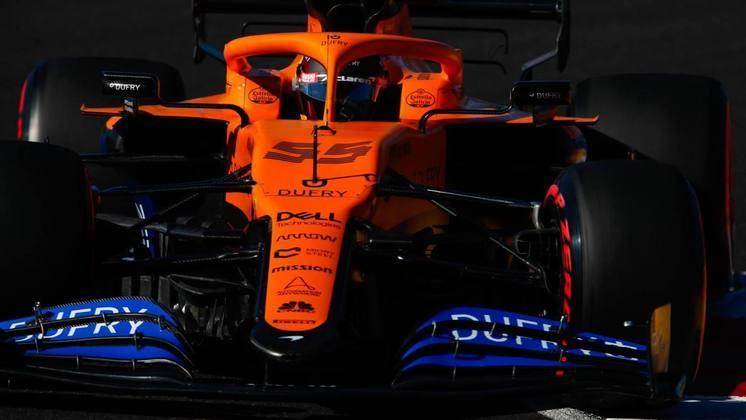 A McLaren novamente colocou seus pilotos na última parte da classificação