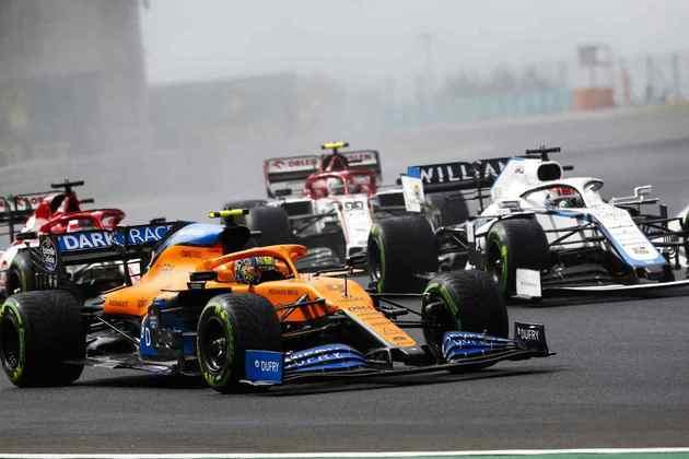 A McLaren teve muitas dificuldades no Hungaroring