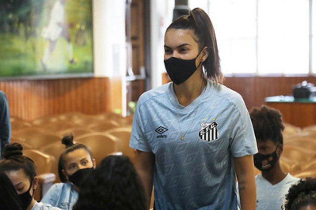A meia Julia Daltoé também trocou o Inter pelo Santos
