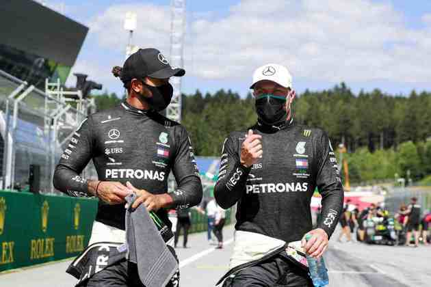 A Mercedes dominou todas as sessões de treinos na Áustria
