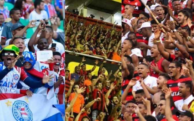 A mesma pesquisa do Ibope Repucom também fez um levantamento de quais clubes do Nordeste têm mais simpatizantes. Isso ocorre quando o time é o segundo clube no coração do torcedor. Veja o ranking a seguir!