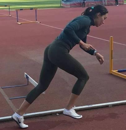 A mexicana Mariana Arceo, do atletismo, também teve coronavírus.