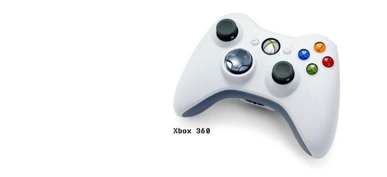 A Microsoft fez mudanças no controle do Xbox 360, como os quatro botões frontais e dois 'botões de ombro', além dos gatilhos.