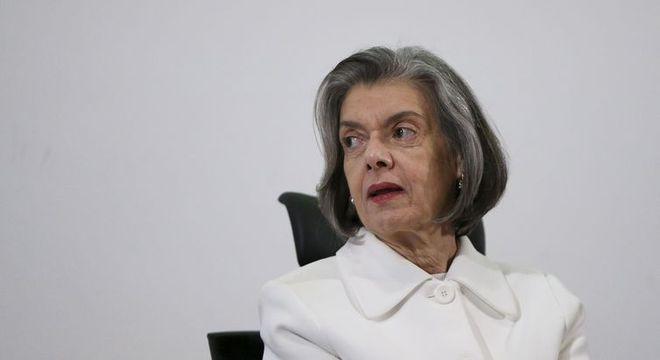 A ministra do Supremo Tribunal Federal Cármen Lúcia
