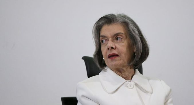 A ministra do Supremo Tribunal Federal Cármen Lúcia