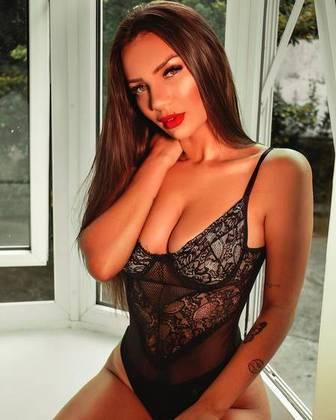 A modelo Stefani Bays, que participou do reality show 'De Ferias com Ex'.