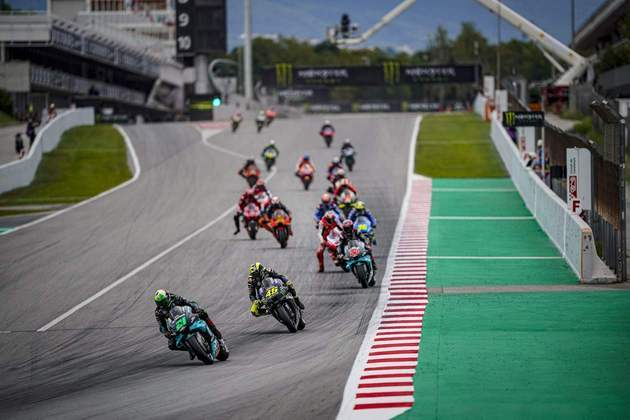 A MotoGP disputou o GP da Catalunha neste domingo. Confira as principais imagens.