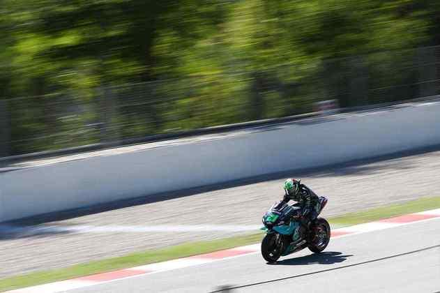 A MotoGP realizou a classificação do GP da Catalunha. Confira as imagens