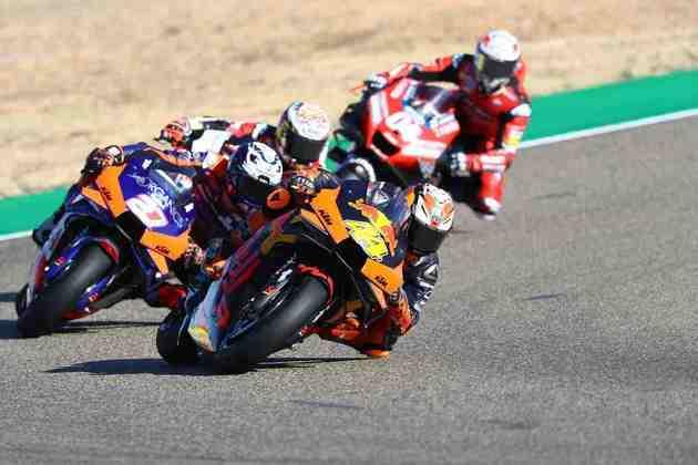 A MotoGP realizou a classificação do GP de Aragão. Confira as imagens