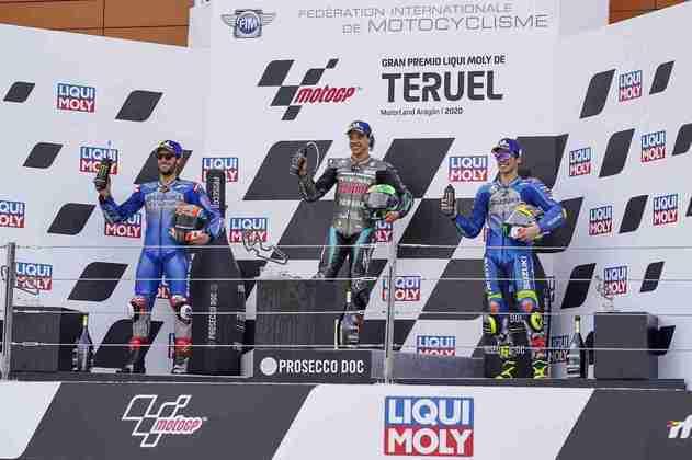 A MotoGP realizou o GP de Teruel neste domingo. Confira as imagens