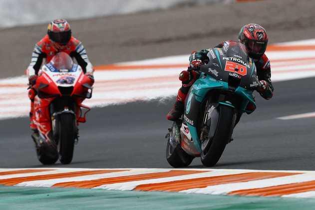 A MotoGP realizou os primeiros treinos do GP da Europa. Confira as principais imagens