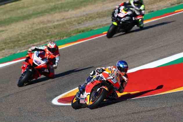 A MotoGP realizou os primeiros treinos do GP de Teruel. Confira as imagens
