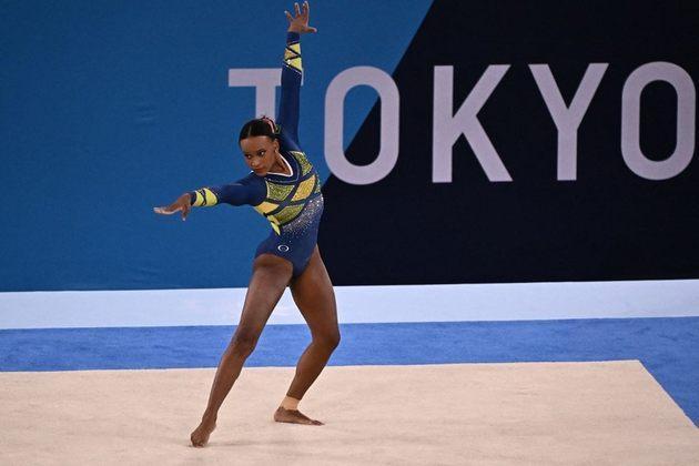 A música Baile de Favela se tornou um dos assuntos mais comentados nas redes sociais por ser a trilha sonora das apresentações da medalhista Rebeca Andrade.