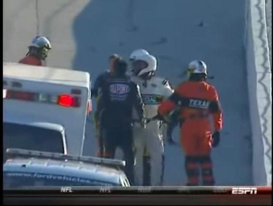 A Nascar também é palco de alguns sopapos. Um dos mais marcantes foi entre Jeff Gordon e Jeff Burton, ainda na pista, durante uma etapa no Texas em 2010