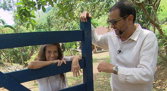 Maria Gladys estava há 7 anos sem dar entrevista