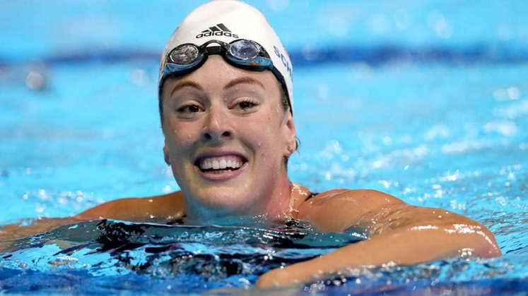 A norte-americana Allison Schmitt quebrou o recorde dos 200m livre nos Jogos Olímpicos de Londres, em 2012. O índice de 1min53s61 não foi superado no Rio e segue sendo o maior.