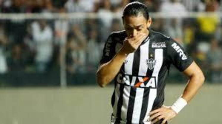 A oitava colocação é do Atlético-MG, que já sofreu 42 goleadas em 628 partidas no Brasileirão desde 2003.