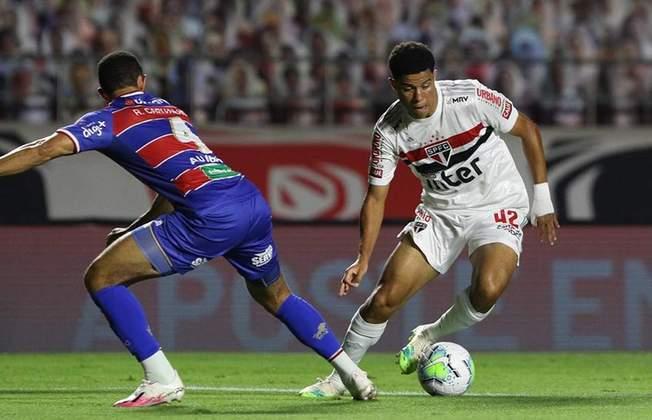 A outra vítima foi o Fortaleza, na derrota por 3 a 2, em 14 de novembro. Os gols do Tricolor foram marcados por Gabriel Sara e Luciano (dois)