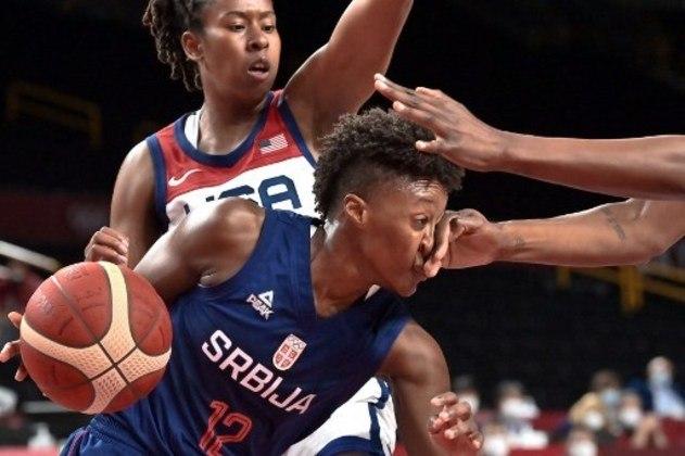 A partir das 4h, Sérvia (foto) e França vão decidir o bronze no basquete feminino.