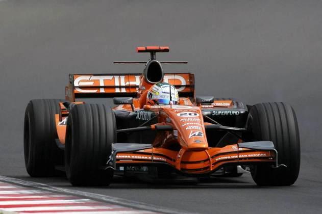 A partir do GP da Itália, a Spyker decidiu mudar o carro e colocou o F8-VIIB no grid. Sem grandes resultados, virou Force India no ano seguinte