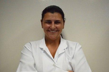 A pesquisadora Jéssica Martim