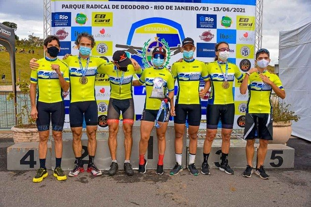 A pista de mountain bike do Parque Radical de Deodoro, na Zona Oeste do Rio de Janeiro, foi reinaugurada após cinco anos fechada. O circuito recebeu neste domingo oEstadual de MTB/XCO, que foi a primeira competição no local desde os Jogos Olímpicos de 2016. Veja a seguir fotos do evento!