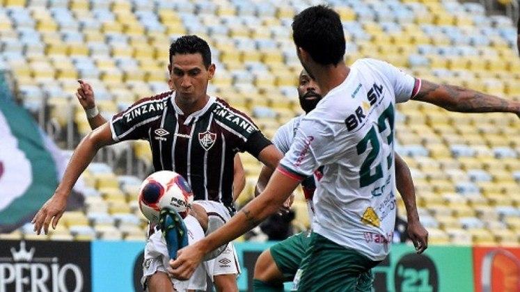 A Portuguesa derrotou o Fluminense por 3 a 0, no Maracanã, em partida válida pela segunda rodada do Campeonato Carioca, neste domingo. Com alguns erros individuais, o Tricolor sofreu seu segundo revés na competição. Confira as notas do Lance! (Por Gabriel Grey)