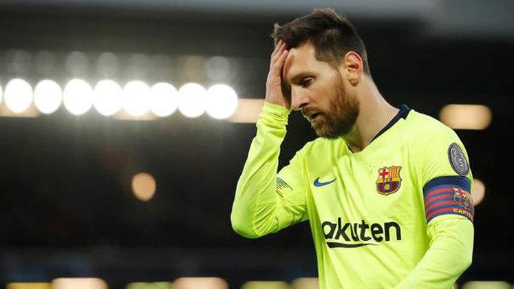 A possível última vez que Messi entrou em campo defendendo as cores do Barcelona foi no fatídico 8 a 2 sofrido contra o Bayern de Munique, pela semifinal da Liga dos Campeões 2020. O craque argentino ficou desolado em campo
