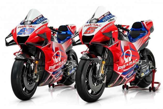 A Pramac apresentou as motos para a temporada 2021 da MotoGP. Confira os detalhes